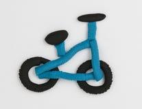 Plastelina bicykl Zdjęcie Royalty Free