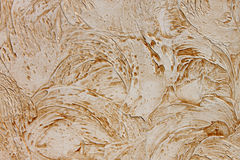 Plaster. Abstract background: brown plaster strokes Royalty Free Stock Photo