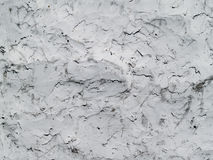 Plaster. Crudely smeared plaster wall for background Stock Photo