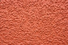 Plaster. Color plaster on a wall of the house Royalty Free Stock Images