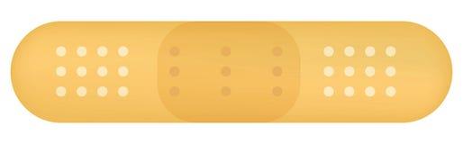 Plaster. Illustration for a Medical Plaster Stock Images