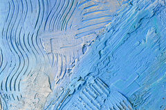 Plaster of blue colour Stock Images