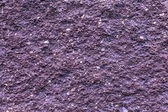Plaster or cement texture violet color Stock Photos