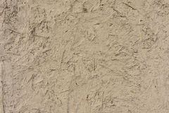 Plaster of clay and straw Royalty Free Stock Image