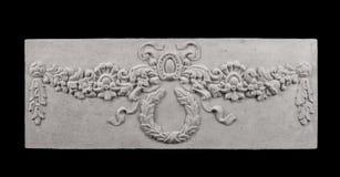Plaster decoration weave Royalty Free Stock Image