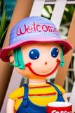 Plaster doll royalty free stock photo