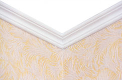 The plaster frieze to ceiling. Royalty Free Stock Photography