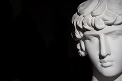 Plaster head Royalty Free Stock Images