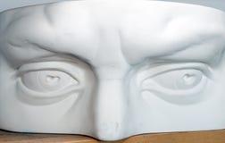 Plaster head part model Stock Photo