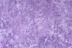 Plaster hue Ultra Violet Stock Photo