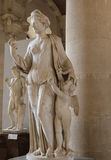 The plaster in le louvre museum,paris,france Stock Image