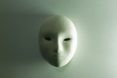 Plaster mask in studio Stock Photos