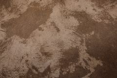Plaster of pink and brown on the old wall Stock Photos
