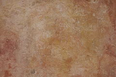 Plaster render orange texture wall Royalty Free Stock Photography
