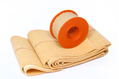 Plaster roll Stock Photo
