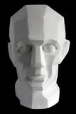 Plaster sculpture of the head Royalty Free Stock Photos