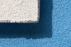Plaster texture Stock Images
