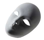 Plaster Venetian mask Stock Photo