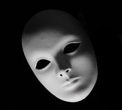 Plaster Venetian mask Royalty Free Stock Photo