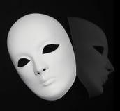 Plaster Venetian mask Stock Image