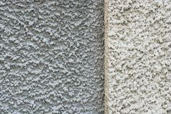 Plaster wall. Canon 20D. Structure of a grey-white wall Royalty Free Stock Images