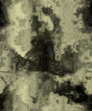 Plaster wall. The image of a wall of the old house, old plaster Royalty Free Stock Images