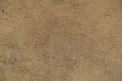 Plaster Beige Ocher Brown Wall Decorative Seamless Texture Background Royalty Free Stock Photos