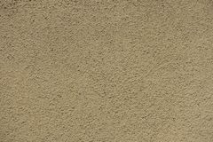 Plaster Beige Ocher Brown Wall Decorative Seamless Texture Background Stock Image