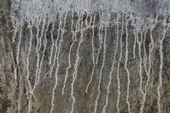 Plaster Wall Drip Stains Royalty Free Stock Photo