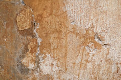 Plaster in warm tones. Old plaster in warm tones Royalty Free Stock Photography
