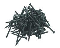 Plasterboard screws Stock Image