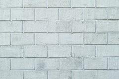 Plastered构造了墙壁以砖块的形式 库存照片