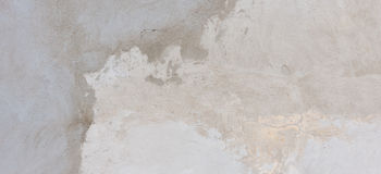 Plastered cement concrete wall background texture. Grunge plastered cement concrete wall background texture banner royalty free stock photo