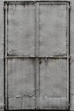 Plastered Metal Door Royalty Free Stock Photo