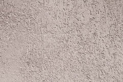 Plastered and painted surface Royalty Free Stock Photography