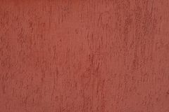 Plastered wall with worm finish stock images