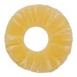 Ananasowy plasterek Zdjęcia Royalty Free