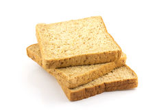 Plasterek całej banatki chleb Zdjęcie Stock