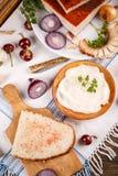 Plasterek chleb z okrasy rozszerzaniem się Zdjęcia Stock