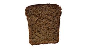 Plasterek czarny chleb Zdjęcia Stock