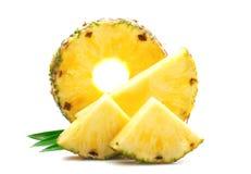 Plasterek dojrzały ananas obraz royalty free