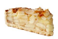 Plasterek jabłczany kulebiak Obrazy Stock