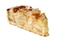 Plasterek jabłczany kulebiak Obraz Royalty Free