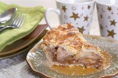Plasterek Jabłczany kulebiak Zdjęcie Royalty Free