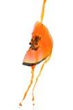 Plasterek melonowiec z naturalną ścinku ścieżką zdjęcie royalty free