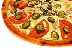 Plasterek pizza Zdjęcia Stock