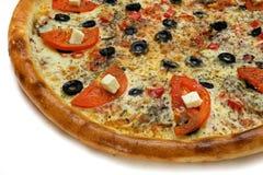 Plasterek pizza Obrazy Stock