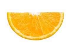 Plasterek pomarańcze Zdjęcie Stock