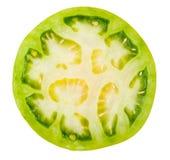 Plasterek zieleni pomidory Zdjęcie Royalty Free