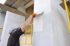 Plasterer Stock Images